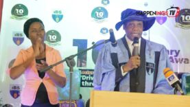 Ife Business School Ile-Ife Osun State Cerebrates her 10th Anniversary lecture and Award Ceremony