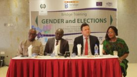 The European Center For Electoral Support trains INEC Desk Officers in Lagos