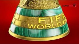 The FIFA World Cup Trophy LIVE in Lagos at the Tafawa Balewa Square