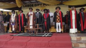 Lagos City Polytechnic Held Her 12th Convocation Ceremony at the Blue Roof