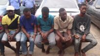 Lagos State Police Command Parade Suspects