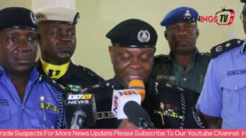 Lagos State Police Parade Notorious Suspects