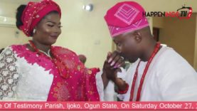 Celebration Of Love Between Temidayo And Olufemi Olukoga